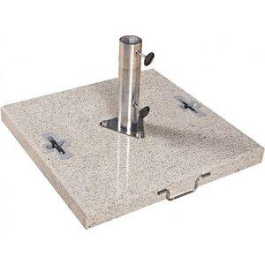 Doppler Parasolvoet graniet vierkant 90 kg