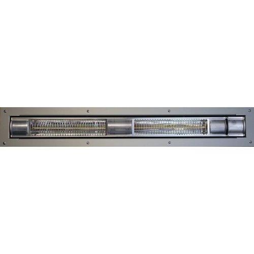 Labé Labe - Inbouw Terrasverwarmer Low Glare 3000W met dimmer en afstandsbediening