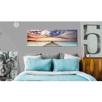 Schilderij - Pier in de Caraïben
