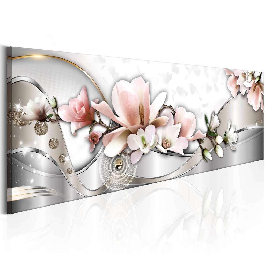 Schilderij - Zomer Orchidee