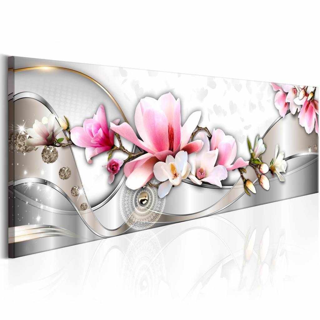 Schilderij - Lente Orchidee