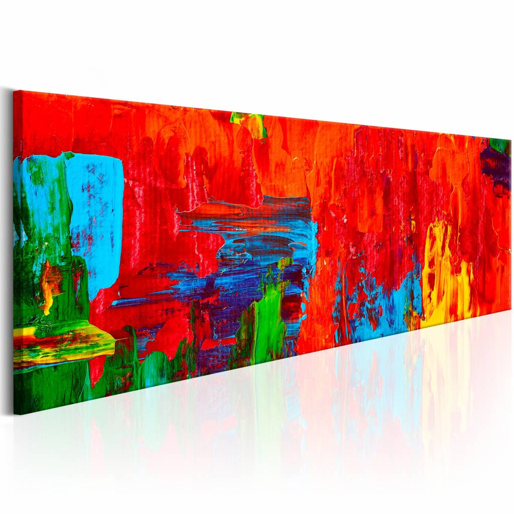 Schilderij - Vurige Fantasie