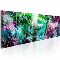 Schilderij - Verloren Regenboog  , multi kleur , 150X50 , 1 luik