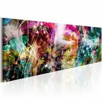 Schilderij - Magische Caleidoscoop  , multi kleur