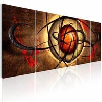 Schilderij - Devil's Eye I