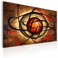 Schilderij - Boze oog