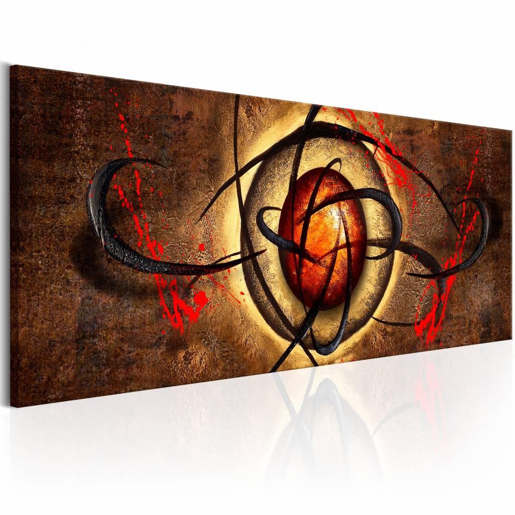 Schilderij - Duivels oog