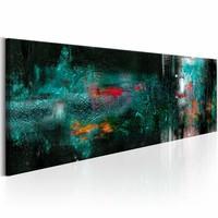 Schilderij - Turquoise Kracht