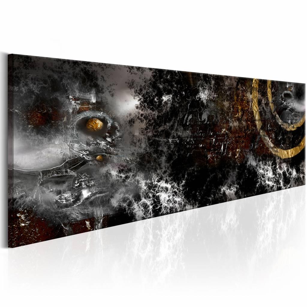 Schilderij - Donkere Maan