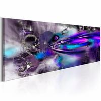 Schilderij - Purple Comet