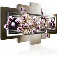 Schilderij - Magnolia and zen