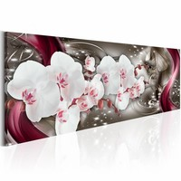 Schilderij - Betoverde kunst - Orchidee