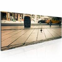 Canvas Schilderij - Dromen, New York City, Multi-gekleurd, 2  Maten, 1luik