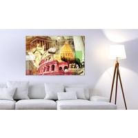 Schilderij - Charming Rome, Multi-gekleurd, 1 luik
