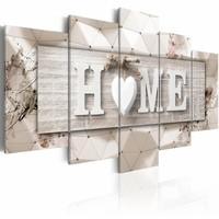 Schilderij - Home: Modern Geometry
