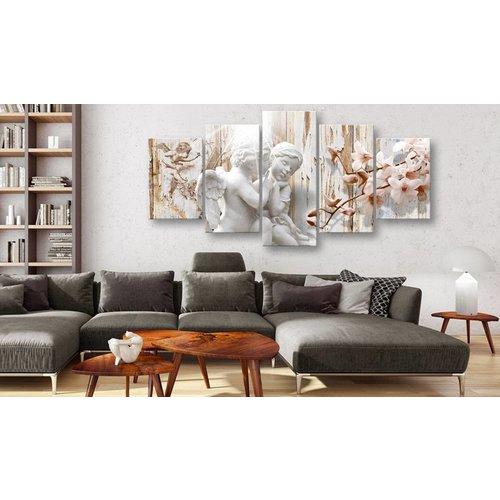 Schilderij - Engeltjes, 5luik
