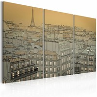 Schilderij - Last moment of the day - Paris
