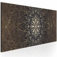 Schilderij - De ingewikkelde schoonheid, mandala