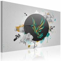 Schilderij De kunst van klein, 1deel, 2 maten, multi-gekleurd