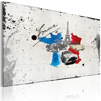 Schilderij - Franse reiziger