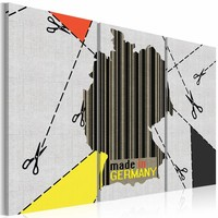 Schilderij - Made in Germany, Multi-gekleurd, 3luik