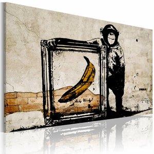 Schilderij - Inspired by Banksy II