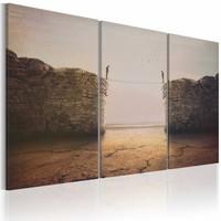 Schilderij - Closer to the edge