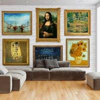 Fotobehang - Wall of treasures