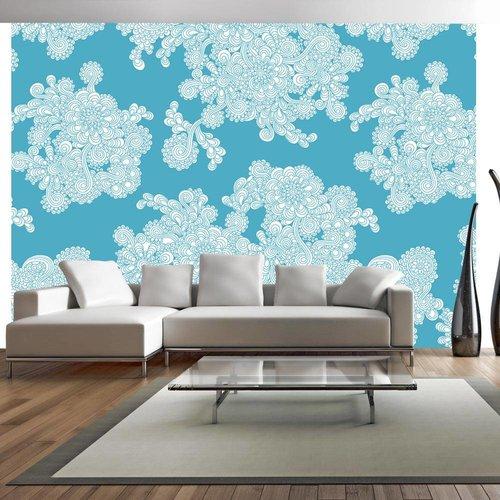 Fotobehang - Flowery clouds