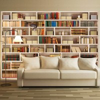Fotobehang - Home library