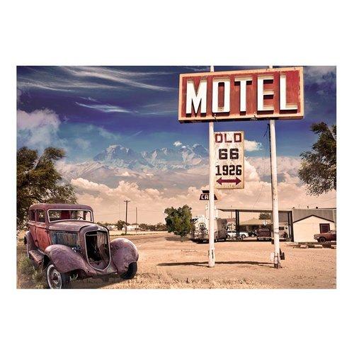 Fotobehang - motel