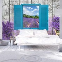 Fotobehang - Lavendel herinnering