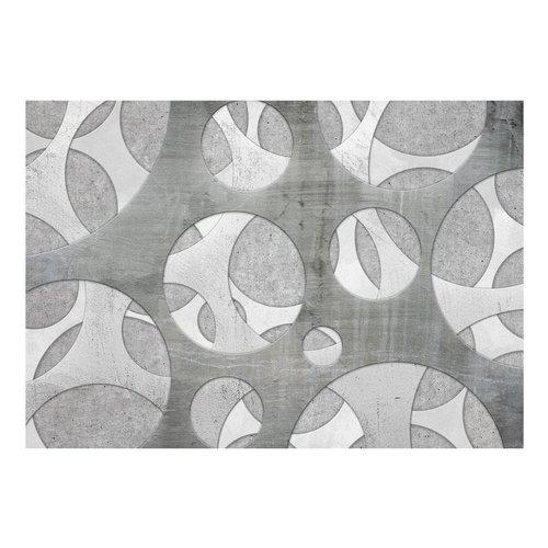 Fotobehang - Geweven In het grijs