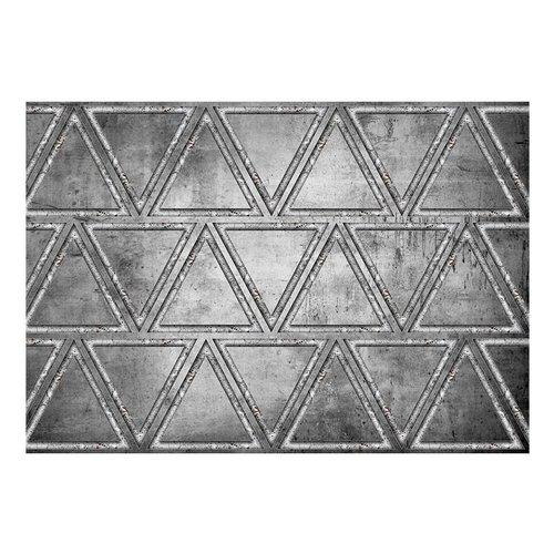 Fotobehang - Dans van  driehoeken