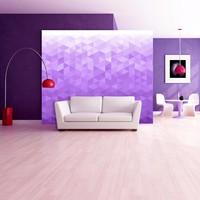 Fotobehang - Paarse pixel
