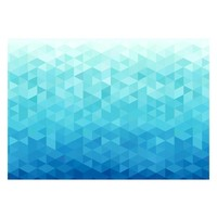 Fotobehang - Azure pixel