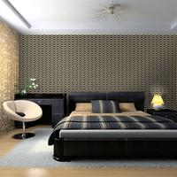 Fotobehang - Intense illusory pattern