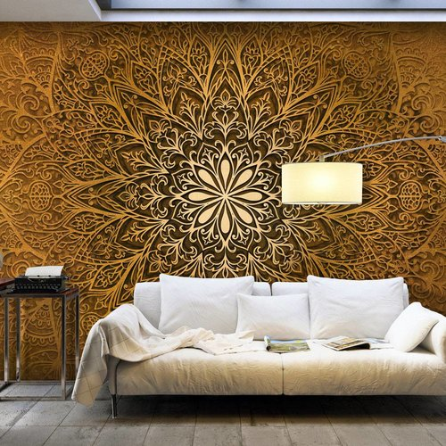 Fotobehang - Mandala heilige cirkel