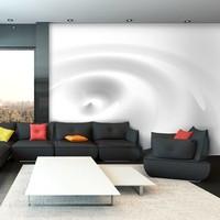 Fotobehang - White Swirl