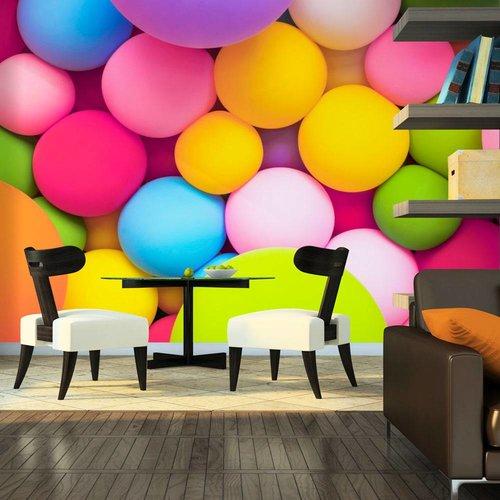 Fotobehang - Gekleurde ballen
