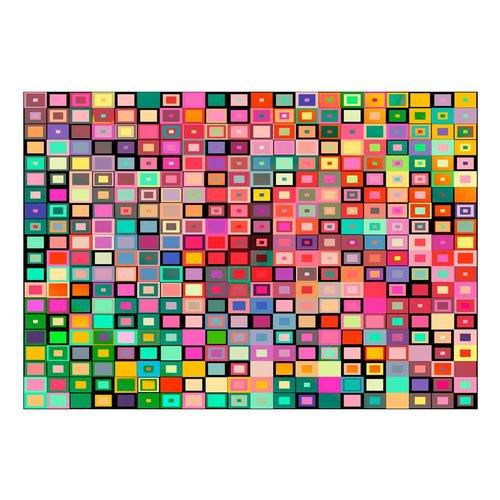 Fotobehang - Kleurrijke blokken