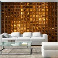 Fotobehang - Gouden blokken