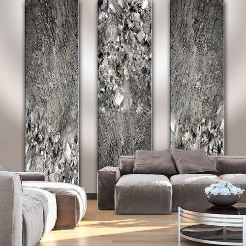 Fotobehang - Zwarte diamant , zwart wit , 5 maten