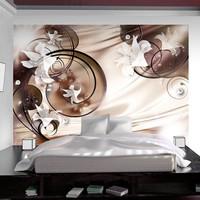 Fotobehang - Satijnachtig carpet