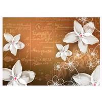 Fotobehang - Floral notes