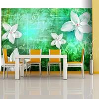 Fotobehang - Floral notes III