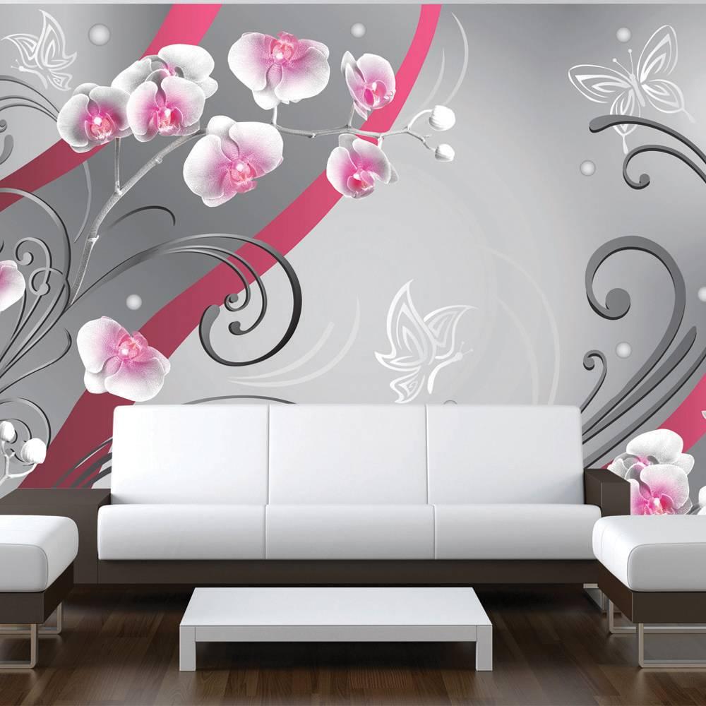 Fotobehang - Roze orchideeen
