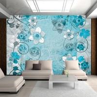Fotobehang - lente in de lucht