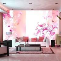 Fotobehang - Roze passie