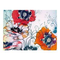 Fotobehang - Een delicate bloem motief